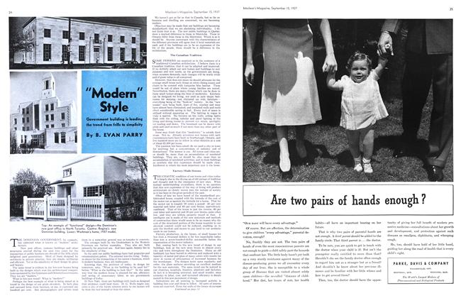 "Article Preview: ""Modern"" Style, September 1937 