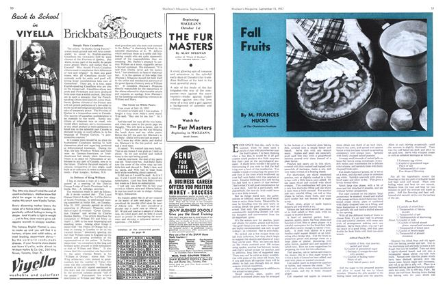 Article Preview: Fall Fruits, September 1937 | Maclean's