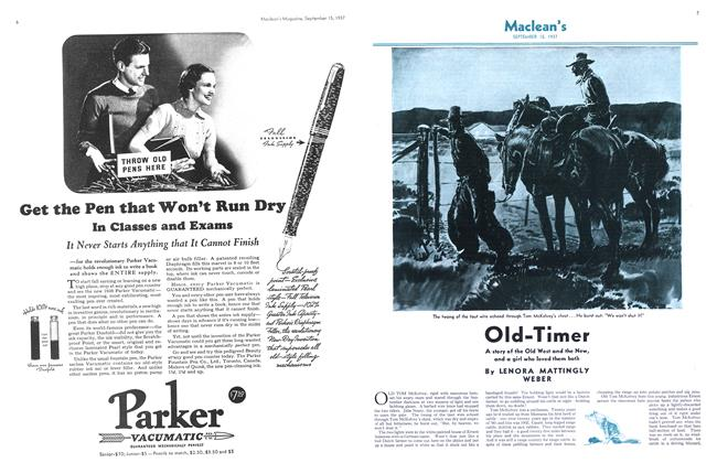 Article Preview: Old-Timer, September 1937 | Maclean's