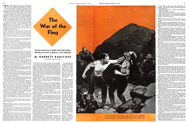 Article Preview: The War of the Flag, October 1937 | Maclean's