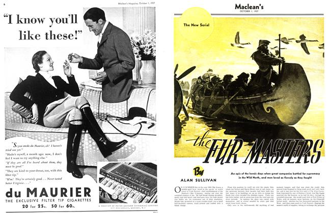 Article Preview: the FUR MASTERS, October 1937 | Maclean's