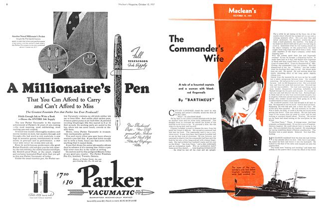 Article Preview: The Commander's Wife, October 1937 | Maclean's