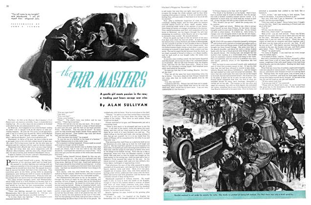 Article Preview: The FUR MASTERS, November 1937 | Maclean's
