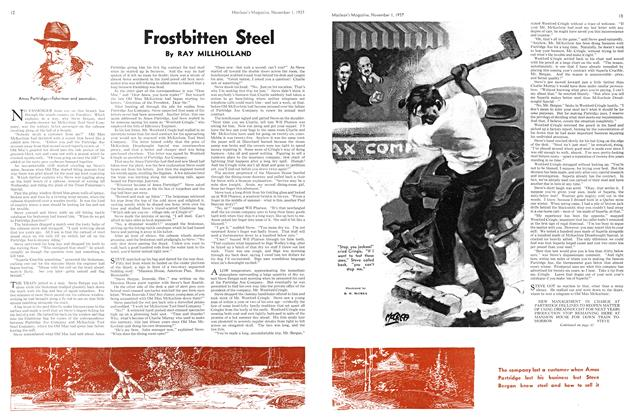 Article Preview: Frostbitten Steel, November 1937 | Maclean's