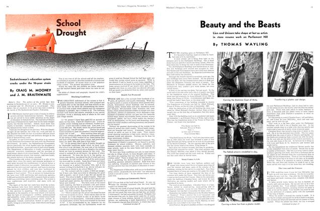 Article Preview: School Drought, November 1937 | Maclean's