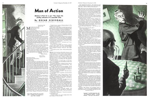 Article Preview: Man of Action, November 1937 | Maclean's