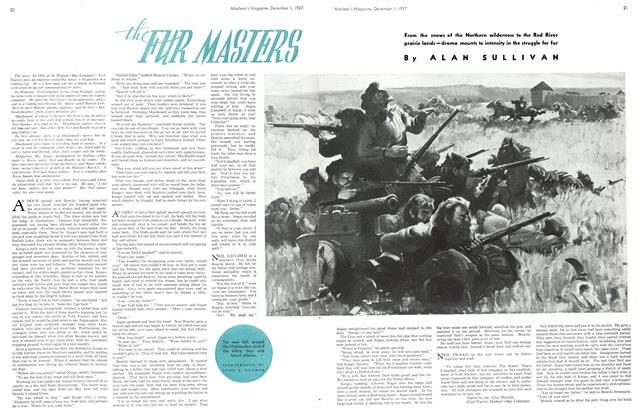 Article Preview: the FUR MASIERS, December 1937 | Maclean's