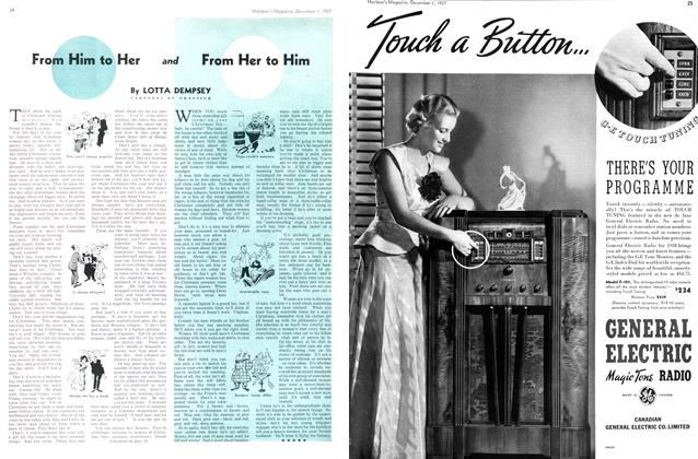 Article Preview: From Him to Her and From Her to Him, December 1937 | Maclean's
