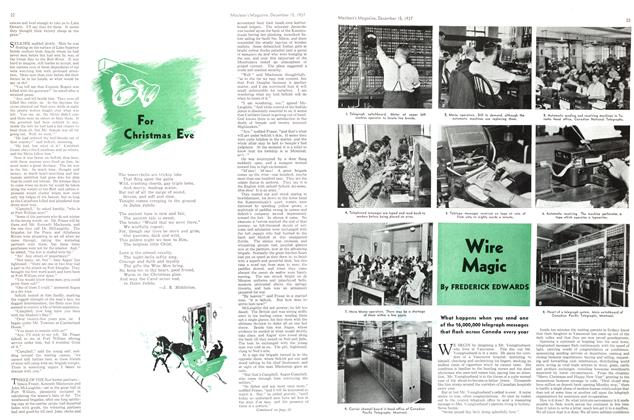 Article Preview: Wire Magic, December 1937 | Maclean's