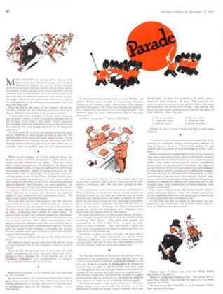 Article Preview: Parade, December 1937 | Maclean's