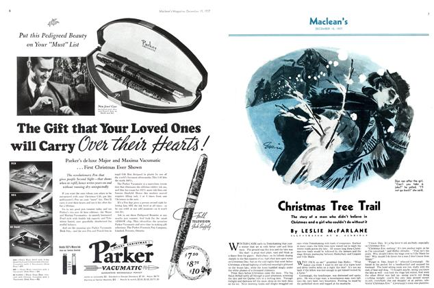 Article Preview: Christmas Tree Trail, December 1937 | Maclean's