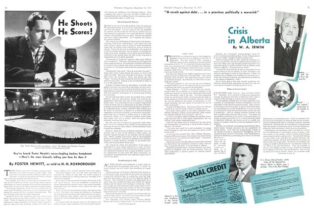Article Preview: He Shoots He Scores!, December 1937 | Maclean's