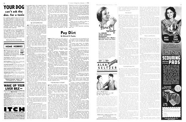Article Preview: Pay Dirt, January 1938 | Maclean's