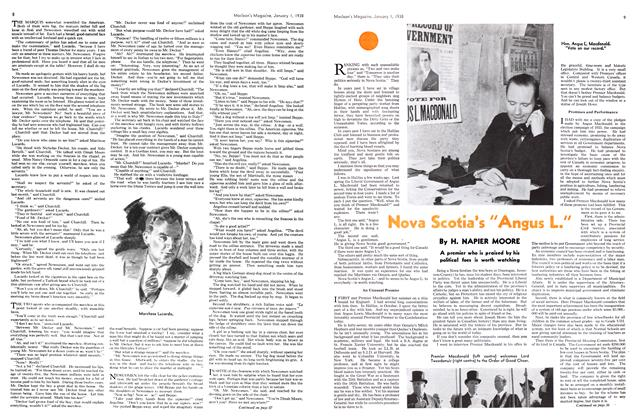 "Article Preview: Nova Scotia's ""Angus L."", January 1938 