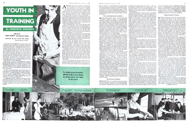 Article Preview: YOUTH IN TRAINING, January 1938 | Maclean's