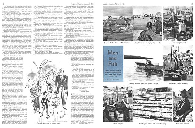 Article Preview: Men and Fish, February 1938 | Maclean's