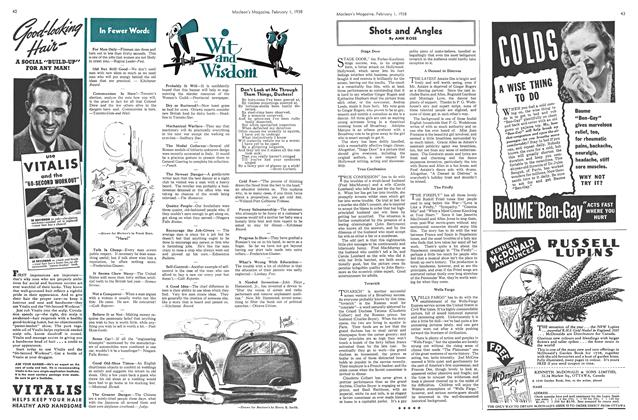Article Preview: In Fewer Words, February 1938 | Maclean's