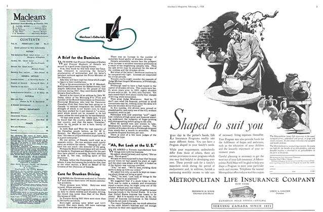 Article Preview: A Brief for the Dominion, February 1938 | Maclean's