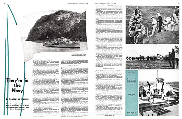 Article Preview: They're the Navy, February 1938 | Maclean's
