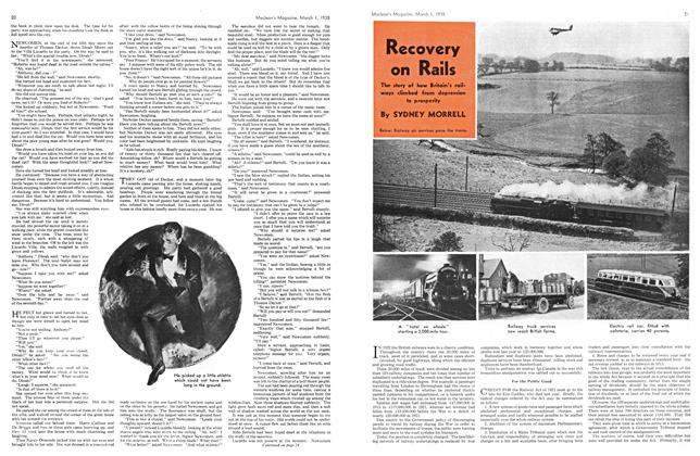 Article Preview: Recovery on Rails, March 1938 | Maclean's
