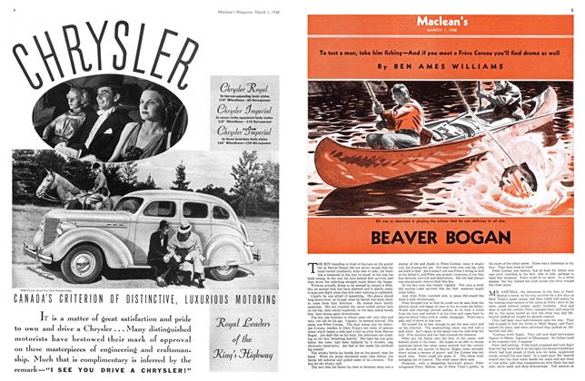 Article Preview: BEAVER BOGAN, March 1938 | Maclean's