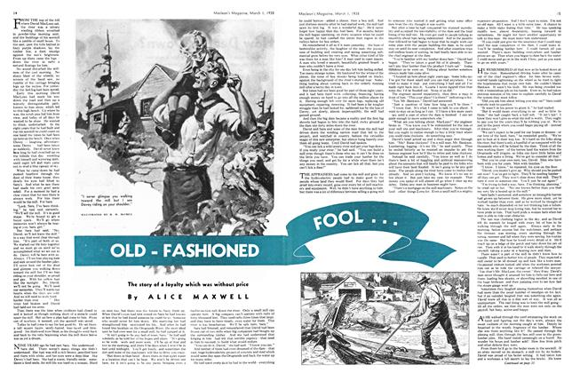 Article Preview: OLD - FASHIONED, March 1938 | Maclean's