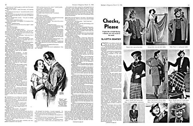 Article Preview: Checks, Please, March 1938 | Maclean's