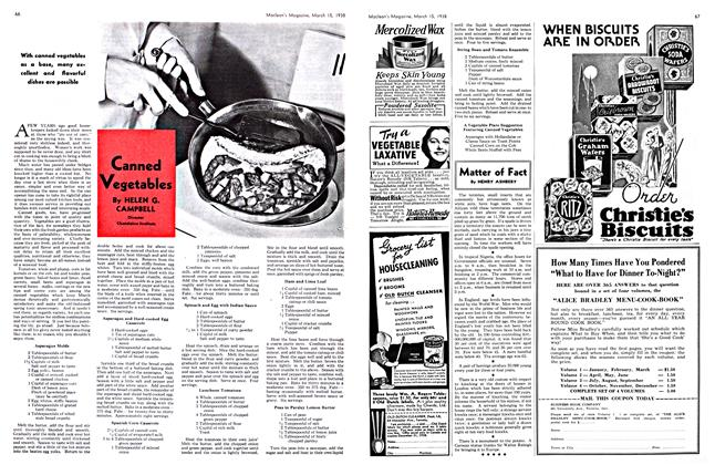 Article Preview: Canned Vegetables, March 1938 | Maclean's
