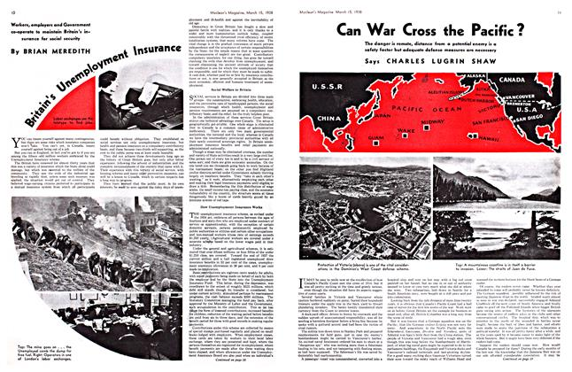 Article Preview: Can War Cross the Pacific?, March 1938 | Maclean's