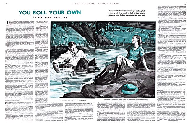 Article Preview: you ROLL YOUR O, March 1938 | Maclean's