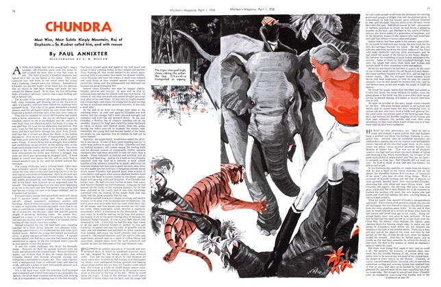 Article Preview: CHUNDRA, April 1938 | Maclean's