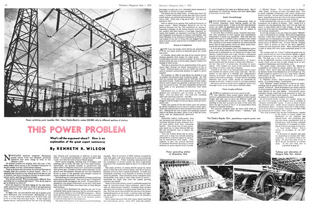 Article Preview: THIS POWER PROBLEM, May 1938 | Maclean's