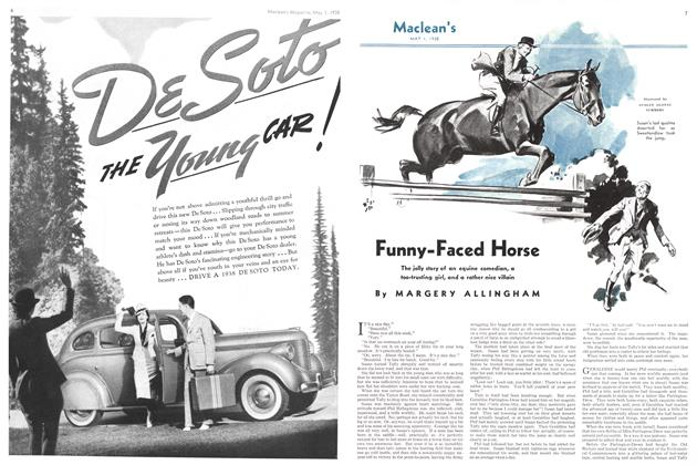Article Preview: Funny-Faced Horse, May 1938 | Maclean's