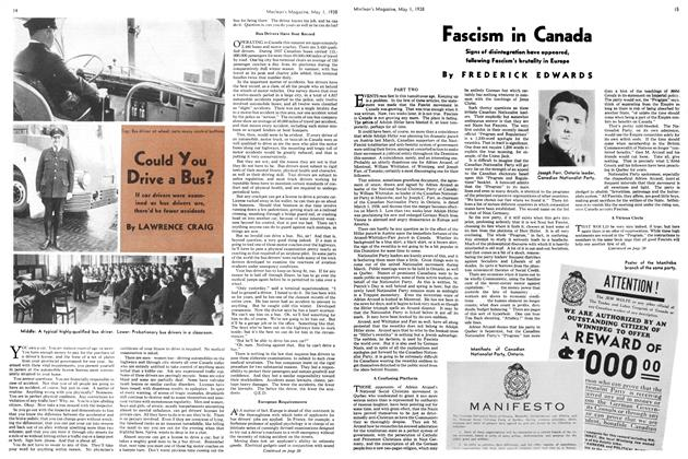 Article Preview: Fascism in Canada, May 1938 | Maclean's