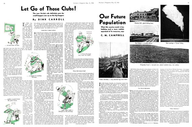 Article Preview: Our Future Population, May 1938 | Maclean's