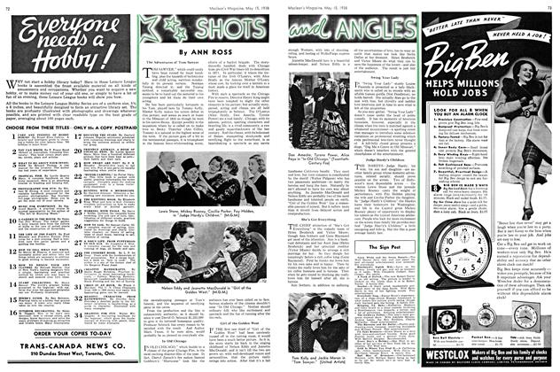 Article Preview: SHOTS and ANGLES, May 1938 | Maclean's