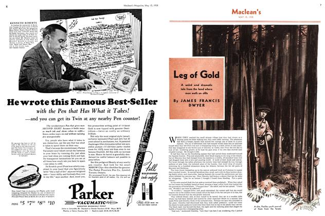 Article Preview: Leg of Gold, May 1938 | Maclean's