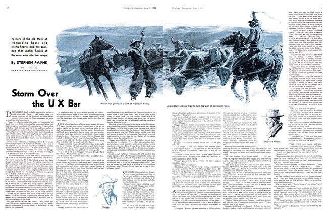 Article Preview: Storm Over the UX Bar, June 1938 | Maclean's