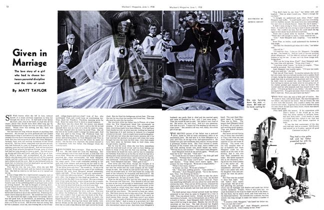 Article Preview: Given in Marriage, June 1938 | Maclean's
