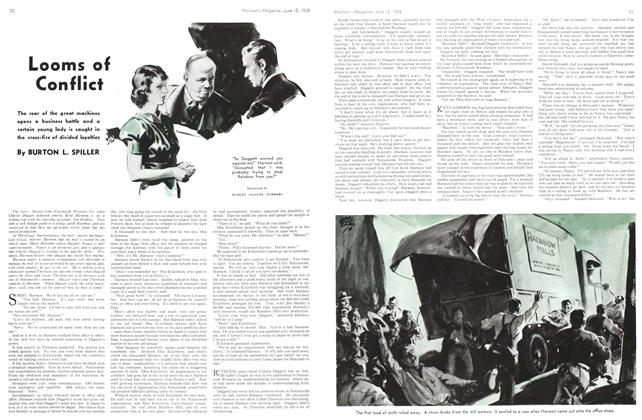Article Preview: Looms of Conflict, June 1938 | Maclean's