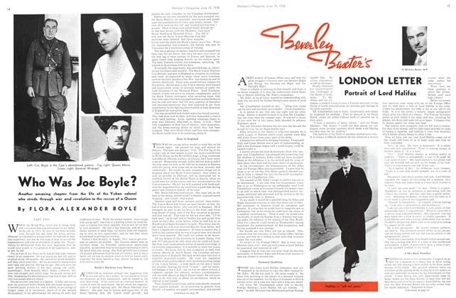 Article Preview: Portrait of Lord Halifax, June 1938 | Maclean's