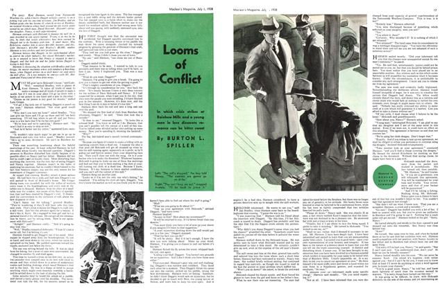 Article Preview: Looms of Conflict, J U LY 1 1938 1938 | Maclean's
