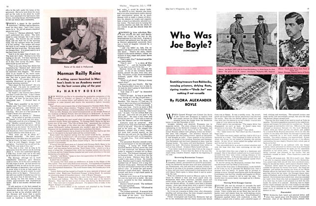 Article Preview: Who Was Joe Boyle?, J U LY 1 1938 1938   Maclean's