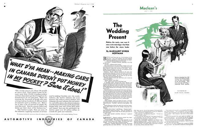Article Preview: The Wedding Present, J U LY 1 1938 1938 | Maclean's