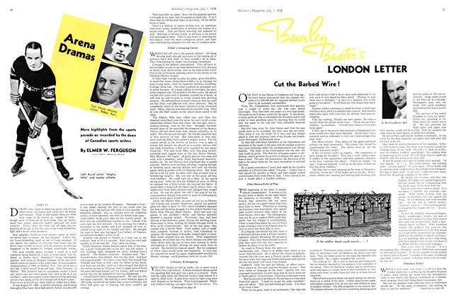 Article Preview: Beverley Baxter's LONDON LETTER, J U LY 1 1938 1938 | Maclean's