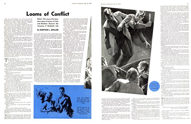 Article Preview: Looms of Conflict, July 1938 | Maclean's