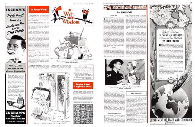 Article Preview: SHOTS and ANGLES, July 1938 | Maclean's