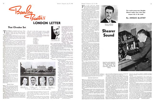 Article Preview: Shearer Sound, July 1938 | Maclean's
