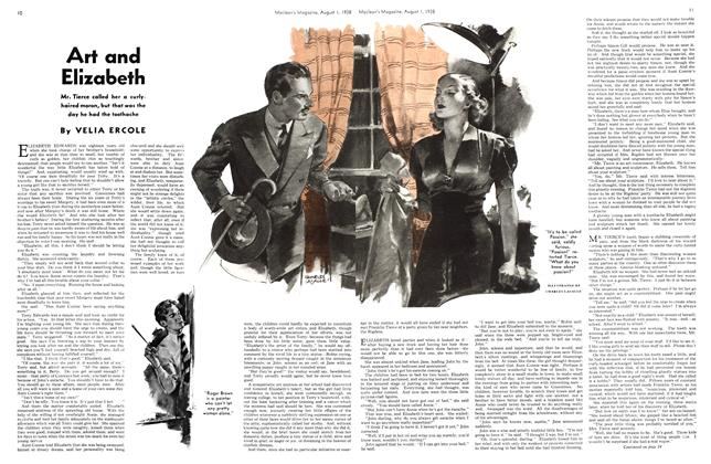 Article Preview: Art and Elizabeth, August 1938 | Maclean's