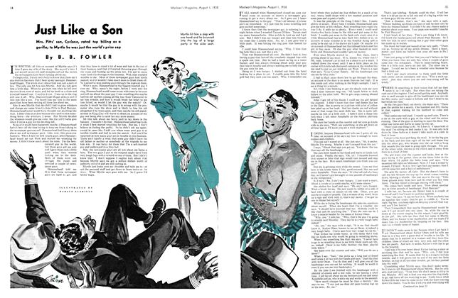 Article Preview: Just Like a Son, August 1938 | Maclean's
